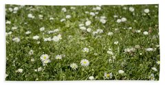 Lawn Of Daisies Hand Towel