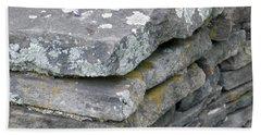 Layered Rock Wall Hand Towel