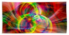 Hand Towel featuring the photograph Layered Swirls by Cathy Donohoue