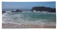 Layered Waves Hand Towel