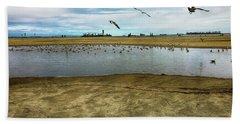 Lb Seagull Pond Bath Towel