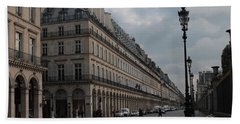 Le Meurice Hotel, Paris Hand Towel by Christopher Kirby