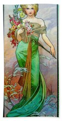 Le Printemps C1895 Hand Towel by Padre Art