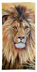 Le Roi-the King, Tribute To Cecil The Lion   Hand Towel