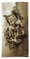 Bath Towel featuring the photograph Les Roses De Paris by Jack Torcello