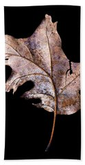 Leaf 2 Bath Towel by David J Bookbinder