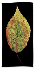 Leaf 5 Bath Towel by David J Bookbinder