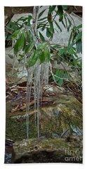 Leaf Drippings Hand Towel