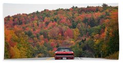 Leaf Peepers Bath Towel