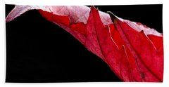Leaf Study IIi Bath Towel