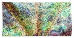 Leaf Terrain Bath Towel