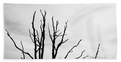 Leafless Tree Bath Towel