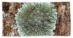 Leafy Lichen Bath Towel