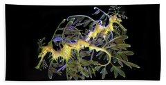 Leafy Sea Dragons Hand Towel
