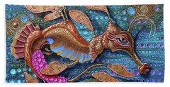 Leafy Seadragon Bath Towel