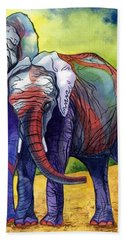 Lean On Me Hand Towel by Barbara Jewell
