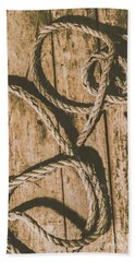 Hand Towel featuring the photograph Learning The Ropes by Jorgo Photography - Wall Art Gallery
