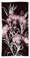 Bath Towel featuring the photograph Leaves And Petals II by Leda Robertson