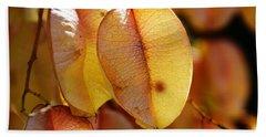 Leaves Hang For Fall-gerorgia Hand Towel