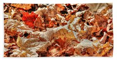 Leaves Bath Towel