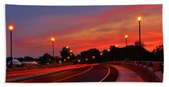 Leaving Red Bank Hand Towel