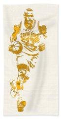 Lebron James Cleveland Cavaliers Pixel Art 11 Hand Towel