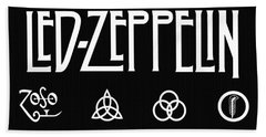Led Zeppelin 2 Hand Towel