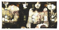 Led Zeppelin Physical Graffiti Hand Towel by Dan Sproul