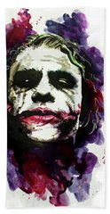Ledgerjoker Hand Towel by Ken Meyer jr