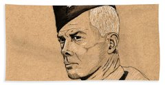 Lee Marvin Bath Towel