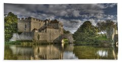 Leeds Castle Reflections Hand Towel