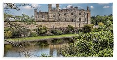 Leeds Castle, Uk Hand Towel by Shirley Mangini