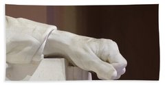 Left Hand Of Lincoln Bath Towel