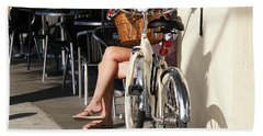 Leg Power - On Montana Avenue Hand Towel