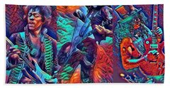 Legendary Shredders - Psychedelic Solo Hand Towel