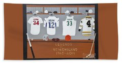 Legends Of New England Hand Towel by Dennis ONeil