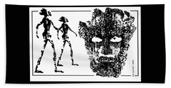 Legends  Of  Olden Times  Hand Towel by Hartmut Jager