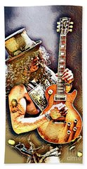 Legends Of Rock - Slash - Sweet Child Bath Towel