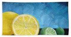 Lemon Lime Hand Towel