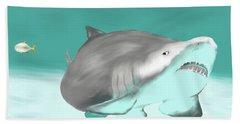Lemon Shark Hand Towel