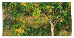Lemon Tree Hand Towel by Henry Scott Tuke