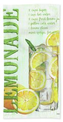 Bath Towel featuring the painting Lemonade by Debbie DeWitt