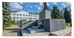 Lenin Memorial Bath Towel