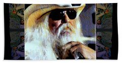 Leon Russell Rip Hand Towel