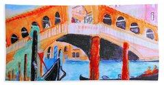 Leonardo Festival Of Venice Hand Towel