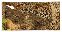 Leopard Cub Hand Towel