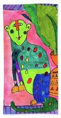Leopard Hand Towel