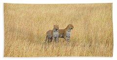 Leopard Pair Bath Towel