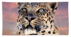 Leopard Portrait Number 3 Hand Towel