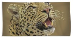 Leopard Tee Bath Towel